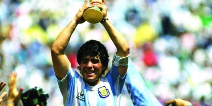 Ölen Maradona'nın arkasından bakın ne yazdılar, Ahlaksız İngiliz basını hani siz de insanlara saygı vardı!