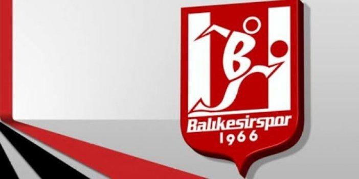 Balıkesirspor'da pazar günü oynanacak maç öncesi ortaya çıktı