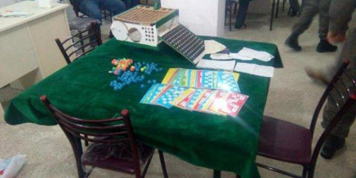 Kumar oynarken yakalanan 16 kişiye anlamlı ceza