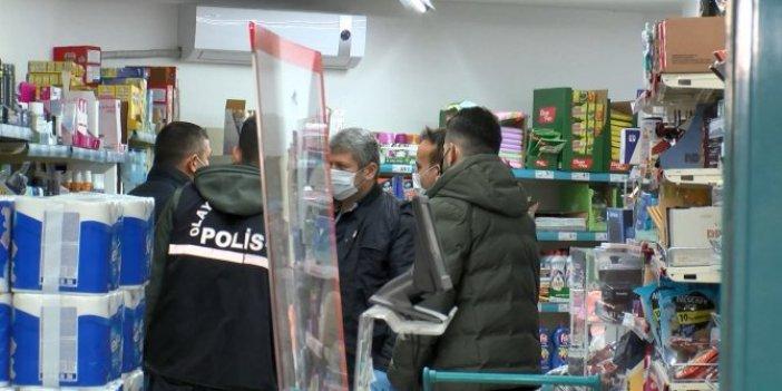 İstanbul Kadıköy'deki markete silahlı soygun