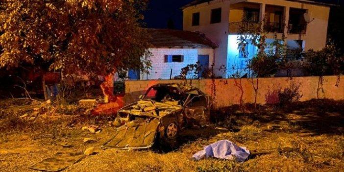 İzmir'de aşırı hız can aldı. Önce köpeğe sonra duvara çarptı