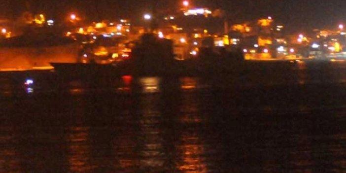 Yoğun sis nedeniyle Çanakkale Boğazı gemilerin geçişlerine kapatıldı
