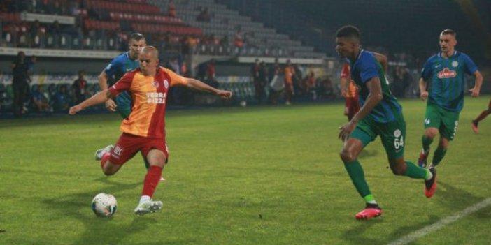 Galatasaray, Rize'de galibiyet peşinde. İşte muhtemel 11'ler