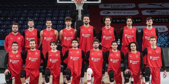 A Milli Basketbol Takımı'nın rakibi Hollanda. Potada 967. milli mesai