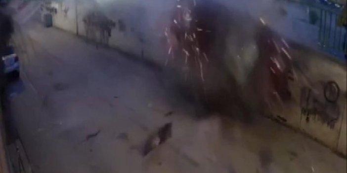 Çekmeköy'de feci kaza. Parçalanan araçtan burnu bile kanamadan çıktı