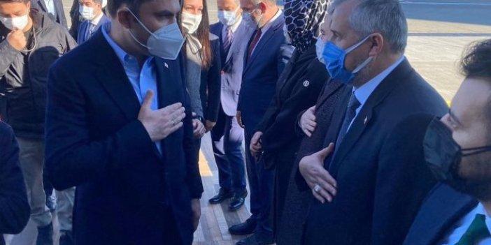 Bakan Murat Kurum'a eşlik eden 4 AKP'li isim korona virüse yakalandı