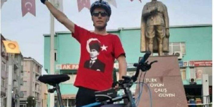 Turdan dönerken bisikletten düştü, 1 haftalık yaşam mücadelesini kaybetti