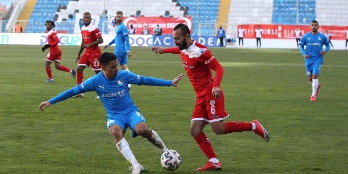 Erzurumspor-Antalyaspor maçında gol düellosu