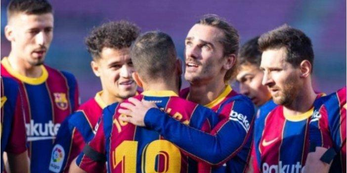 Barcelona, sahasında Osasuna'ya şans tanımadı