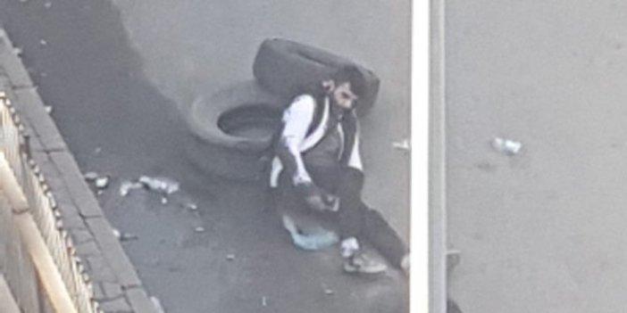 İstanbul'da korkunç olay, Sokak ortasında oğlunu vurdu, kimseyi yanına yaklaştırmadı
