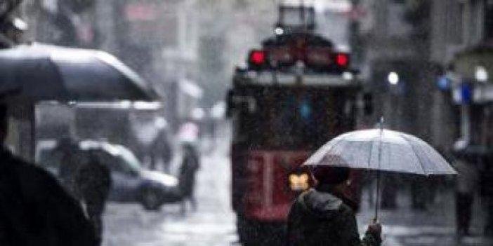 Meteoroloji 10 ili tek tek uyardı. Sağanak yağmur ve kar geliyor