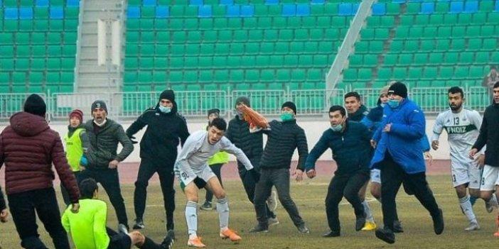 Özbekistan'da hakeme linç girişimi