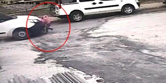 Ehliyetsiz sürücü dehşeti, minik Ayşe'yi hayattan kopardı, kameralar anbean kaydetti
