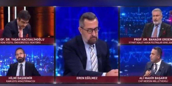 RTÜK'ten Habertürk'e ağır ceza, CHP'li Ali Mahir Başarır'ın açıklamaları çok konuşulmuştu!