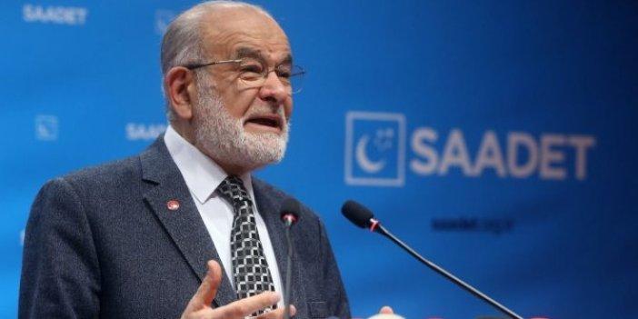 Saadet Partisi lideri Karamollaoğlu: Asgari ücrette hedef 8 bin 85 lira olmalı