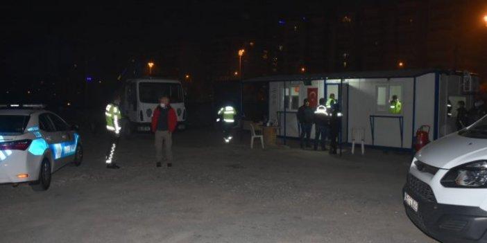 İzmir'de Polis Teşkilatı Güçlendirme Vakfı otoparkına silahlı saldırı