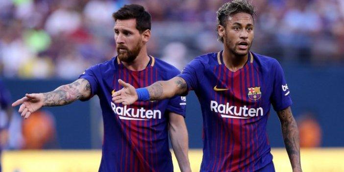 Neymar'dan yıllar sonra gelen Messi itirafı