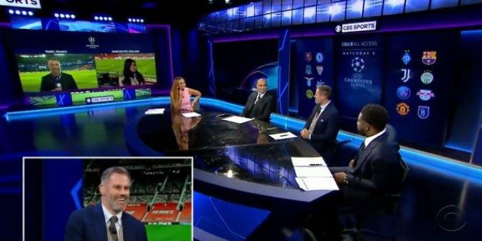 Liverpool'un efsane isimlerinden Jamie Carragher, Başakşehir'i telaffuz edemedi. Stüdyo her seferinde kahkahaya boğuldu