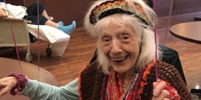 Angelina Friedman 102 yaşında ama turp gibi. Hastalık savar nine maşallah dedirtti