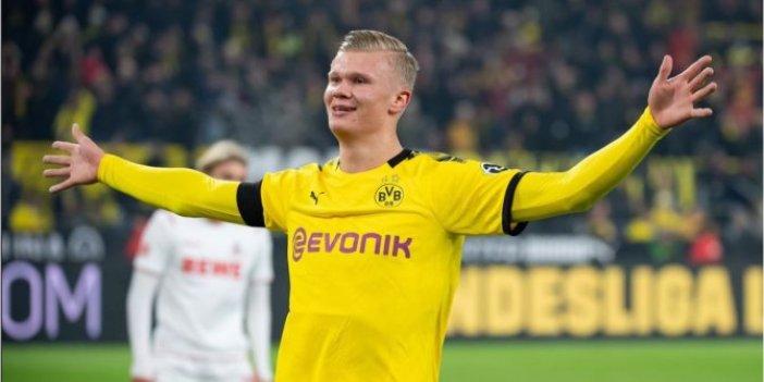 Borussia Dortmund'lu Erling Haaland ocak ayına kadar yok