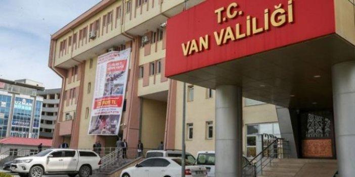Van'da 15 gün yasak getirildi! Resmen açıklandı