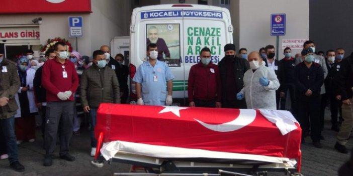 Koronadan hayatını kaybeden doktor Mehmet Karakum son yolculuğuna uğurlandı