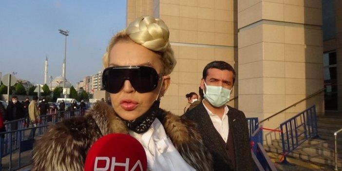 Seyhan Soylu 4 günlük hapsi nedeniyle adliyeye getirildi