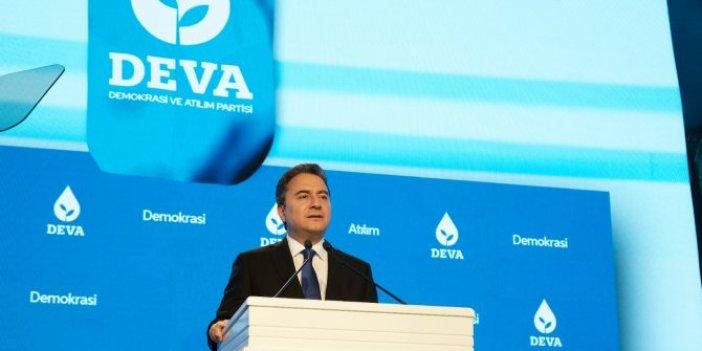 Ali Babacan'ın DEVA Partisi'ne afiş engeli