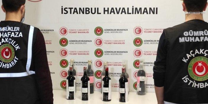 İstanbul Havalimanı'nda uyuşturucu operasyonu: 17 kilogram sıvı kokain ele geçirildi