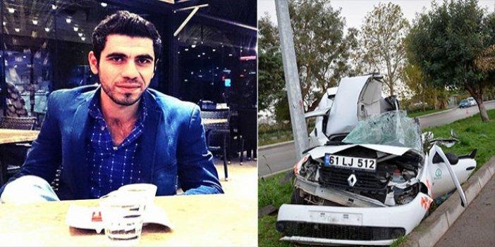 Antalya'da feci kaza! İşe giderken canından oldu