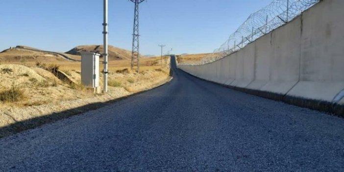 Soylu duyurdu. Ağrı-İran sınırında güvenlik duvarı tamamlandı
