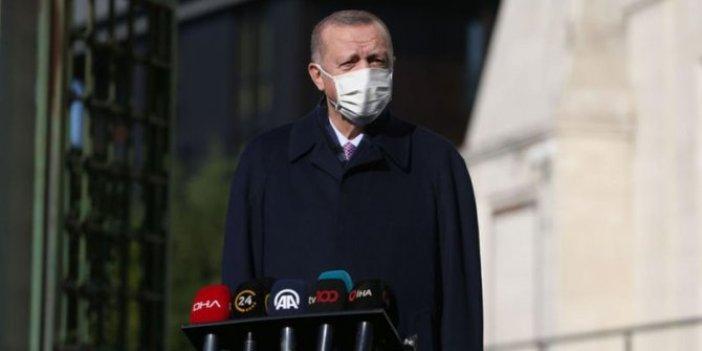 Erdoğan'dan cuma namazı sonrası açıklamalar