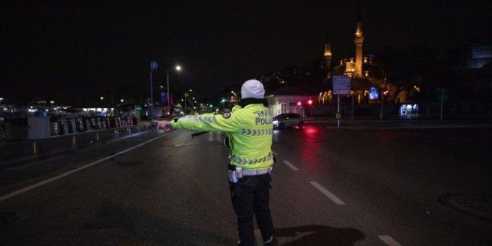 Sokağa çıkma yasağı başladığında İstanbullunun yarısı yollardaydı