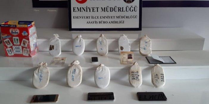 Esenyurt'ta uyuşturucu operasyonu: 3 gözaltı