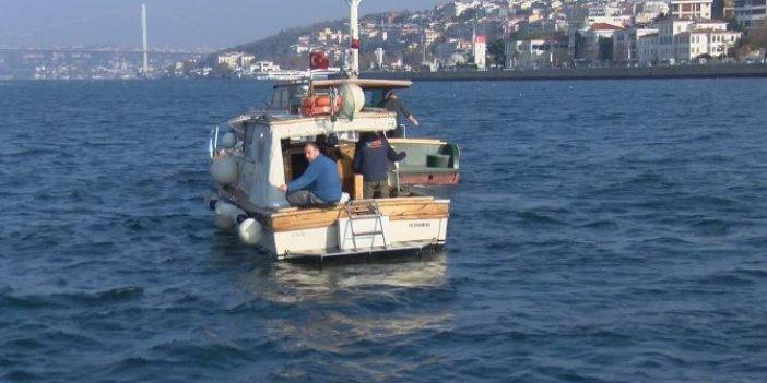 İstanbul Boğazı'nda korona denetimi. Tekneler tek tek incelendi