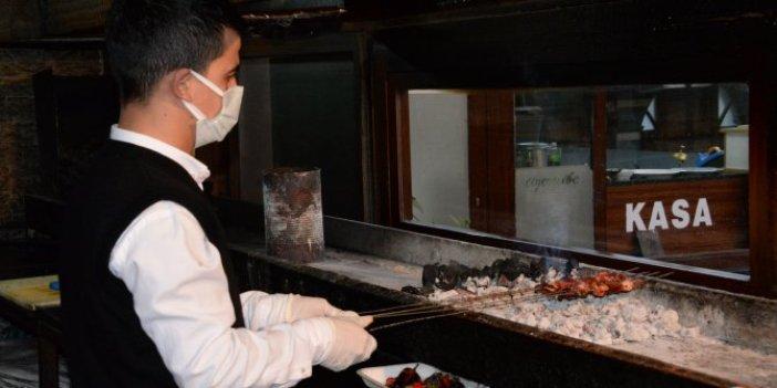 Diyarbakır'da ciğerciler iş yapamadı