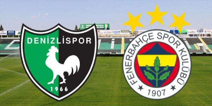 Fenerbahçe, Denizlispor deplasmanında. İşte muhtemel 11'ler