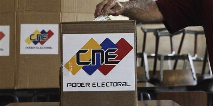 Venezuela boykot altında seçime gidiyor