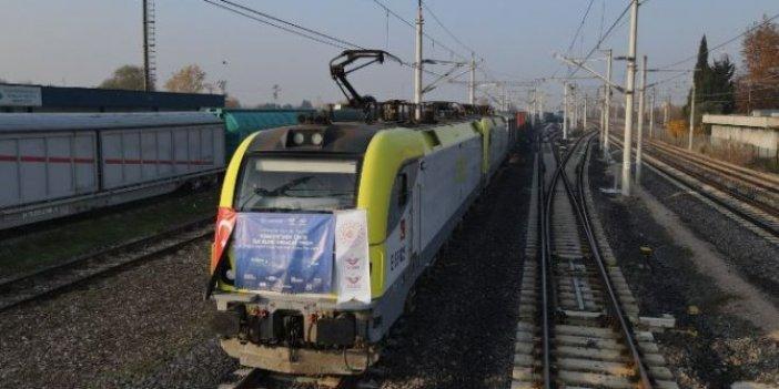 Türkiye-Çin İhracat Treni'nin tören sonrası geri döndüğü iddia edilmişti, TCDD'den açıklama geldi