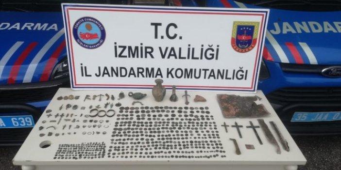 Kaçakçılık operasyonunda 575 parça tarihi eser ele geçirildi: 3 gözaltı