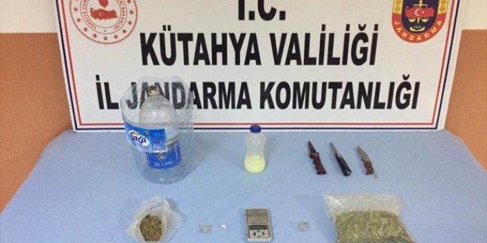 Kütahya'da uyuşturucu operasyonu. 4 kişi tutuklandı