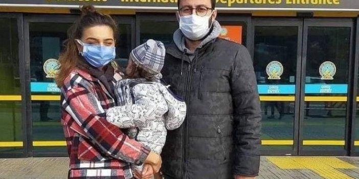 Ordulu Demir Ali bebek tedavisi için Amerika'ya uçtu