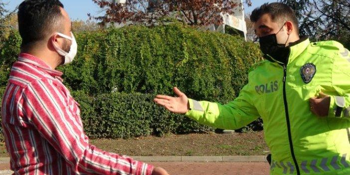 Bursa'da ehliyetsiz sürücü olay yerine karantinadaki arkadaşını çağırdı, itirafı karşısında polis şaşkına döndü