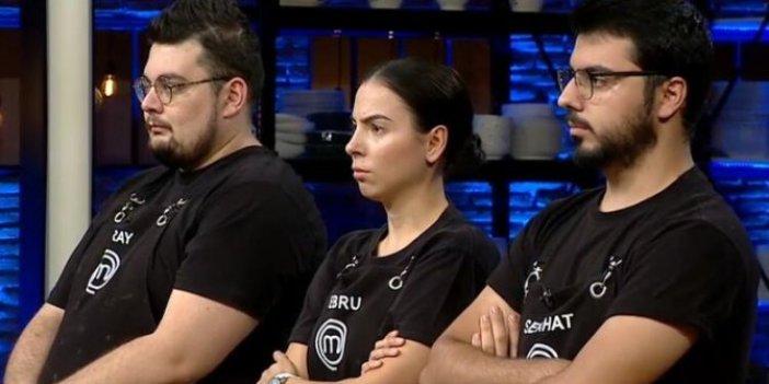 MasterChef Türkiye'de kim elendi. 6 Aralık 2020 MasterChef Türkiye'de elenen isim Ebru mu, Eray mı, Serhat mı?