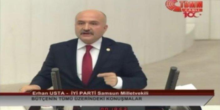 İYİ Partili Usta çok affedersiniz bu kelimeyi kullanmak istemiyorum dedi. Türkiye'deki enflasyon hikayesini anlattı