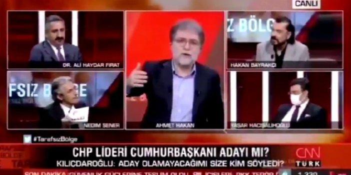 Ahmet Hakan canlı yayında Kemal Kılıçdaroğlu'na seslendi