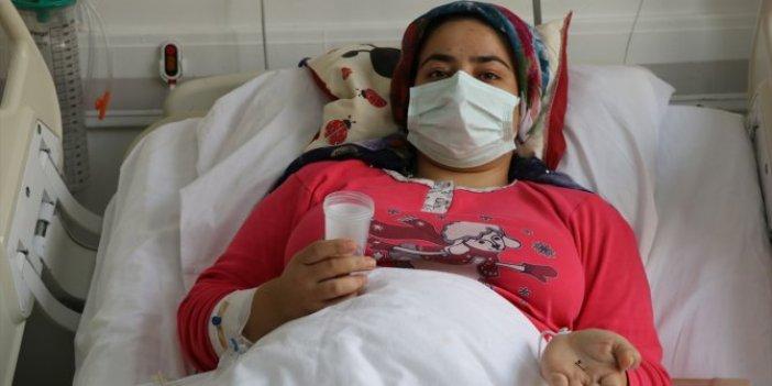 Karın ağrısıyla gitti, ameliyata alındı. Doktorlar tam 17 sene sonra çıkardı