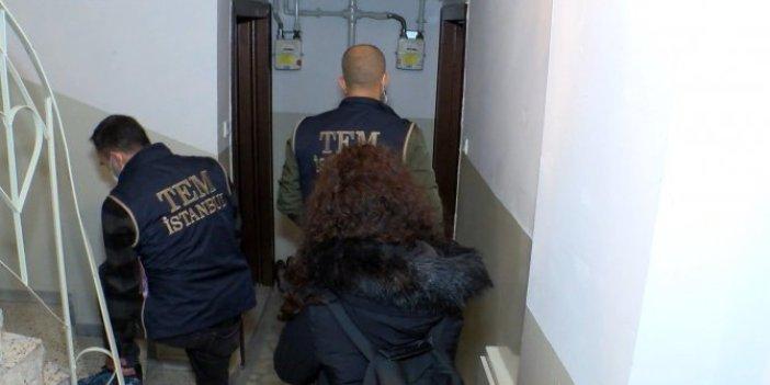 İstanbul'da gece yarısı kritik operasyon. Yabancı Terörist Savaşçı'larına gece baskını