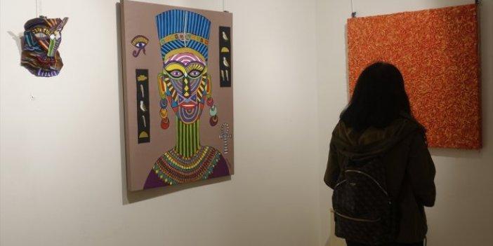 'İki Hikaye' sergisi Kelimat Sanat Evi'nde sanatseverlerle buluşuyor