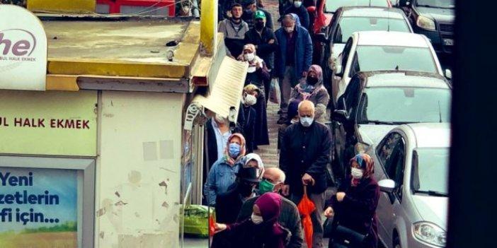 Vatandaşın ucuz ekmek kuyruğunda beklemesinin altından kimler çıktı. Gazeteci Yeliz Koray gerçeği hatırlattı
